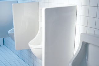 Starck 3 Urinal partition  by  Duravit