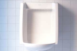 Starck 3 urinal square  by  Duravit