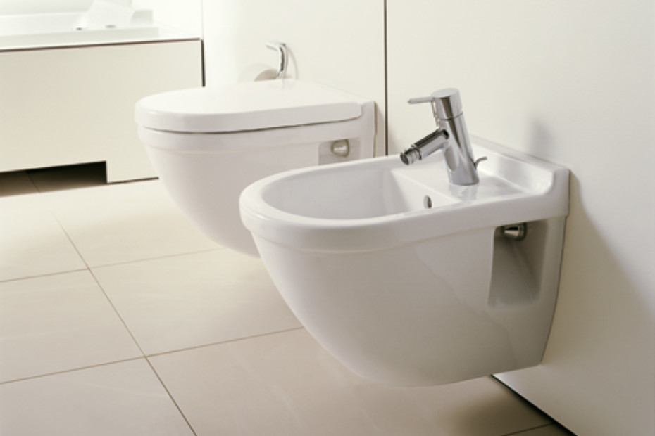 starck 3 wand bidet von duravit stylepark. Black Bedroom Furniture Sets. Home Design Ideas