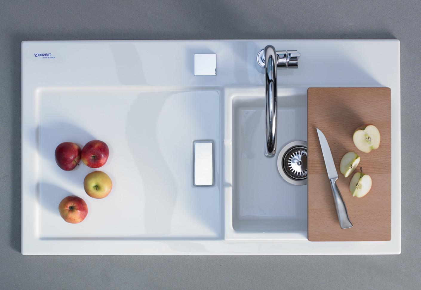 starck k chensp le von duravit stylepark. Black Bedroom Furniture Sets. Home Design Ideas