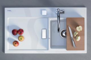 Starck kitchen sink  by  Duravit