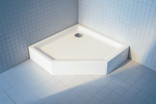 Starck Shower pentagon high  by  Duravit