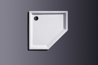 Starck Shower pentagon shallow  by  Duravit