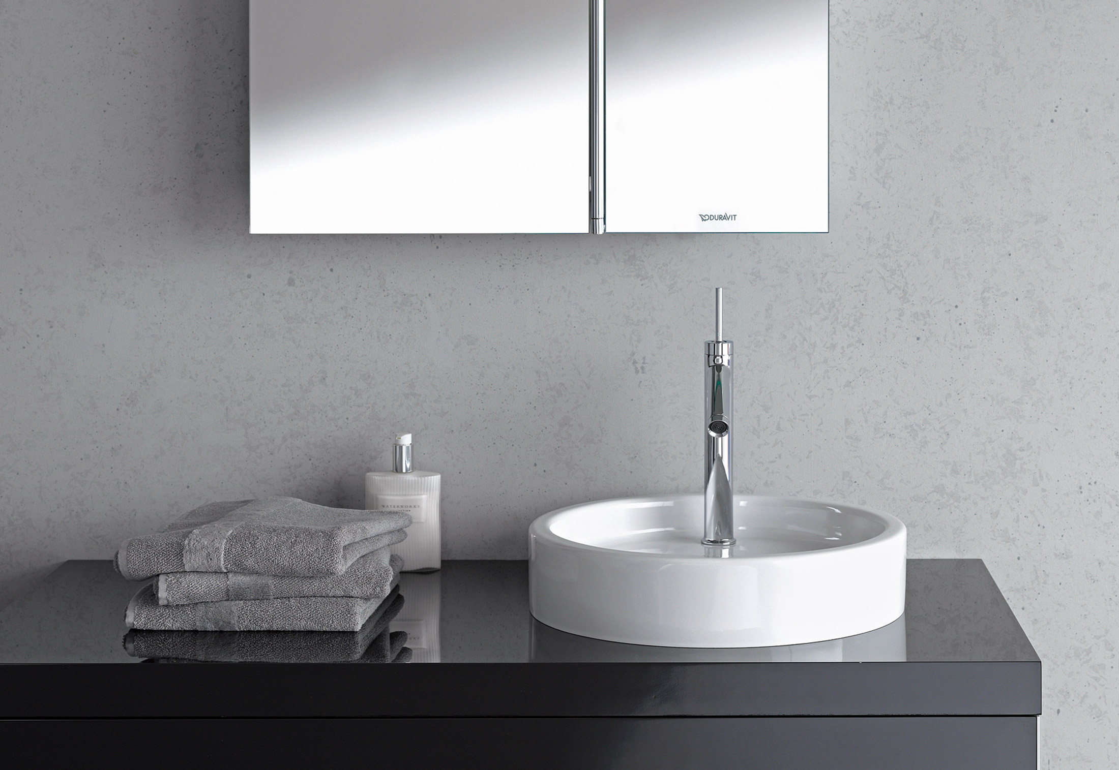 Starck single washing basin round by duravit stylepark - Bassin starck ...