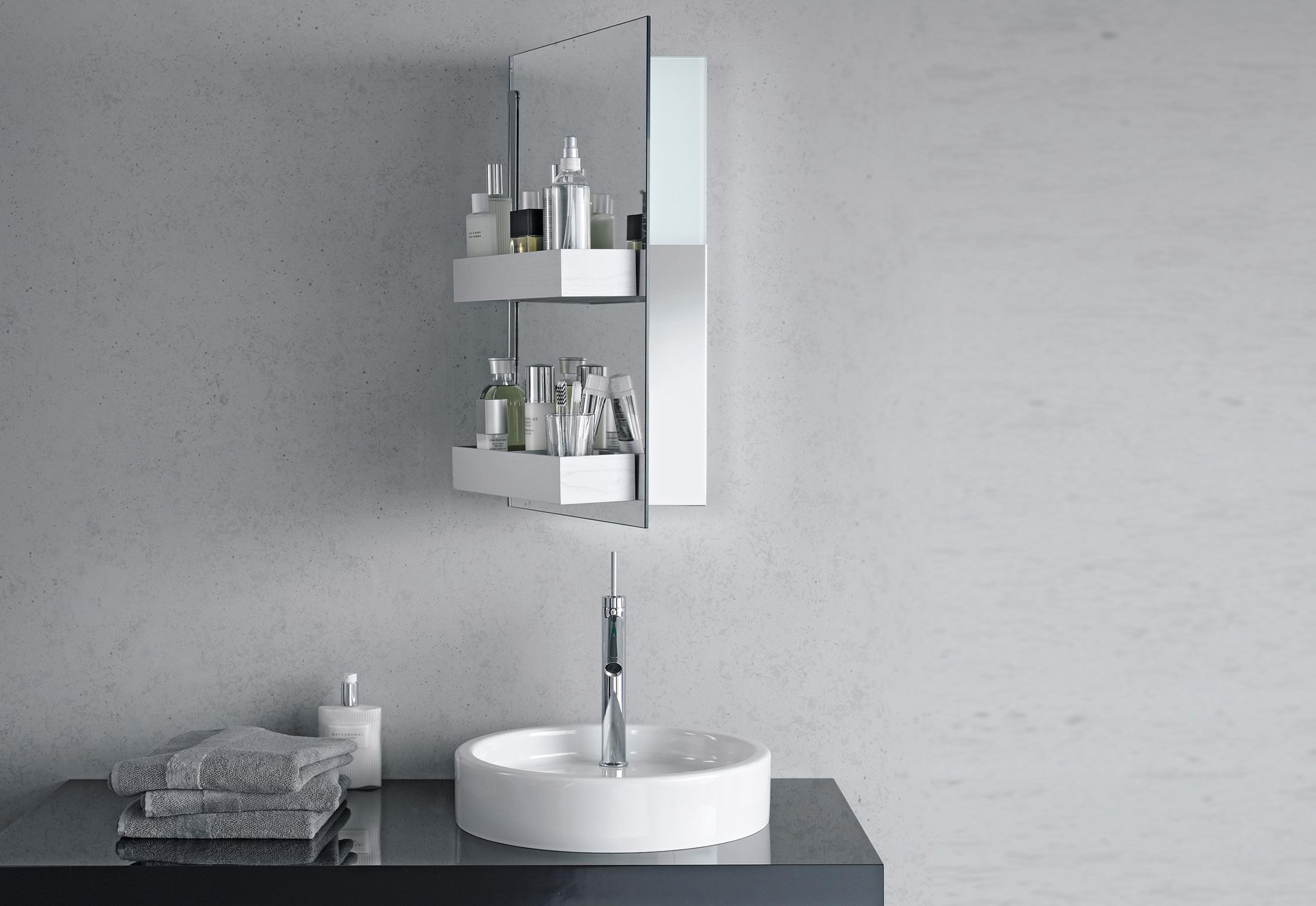 Starck single washing basin round by Duravit | STYLEPARK