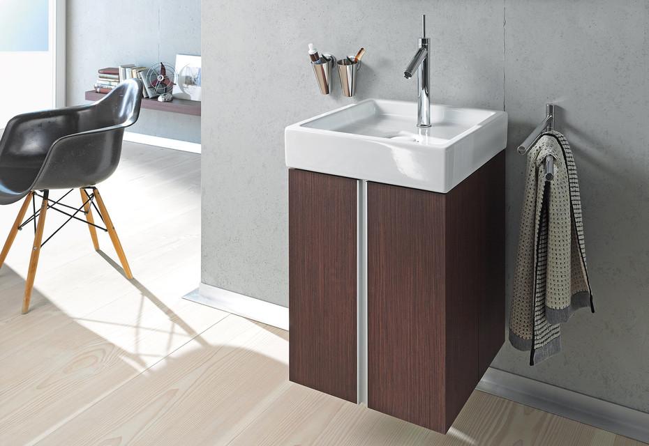 Starck single washing basin square
