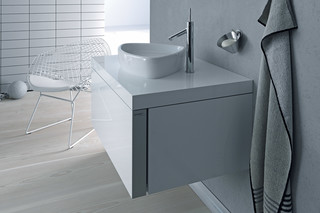 Starck single washing basin  by  Duravit