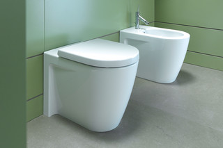 Starck stand WC combination  by  Duravit