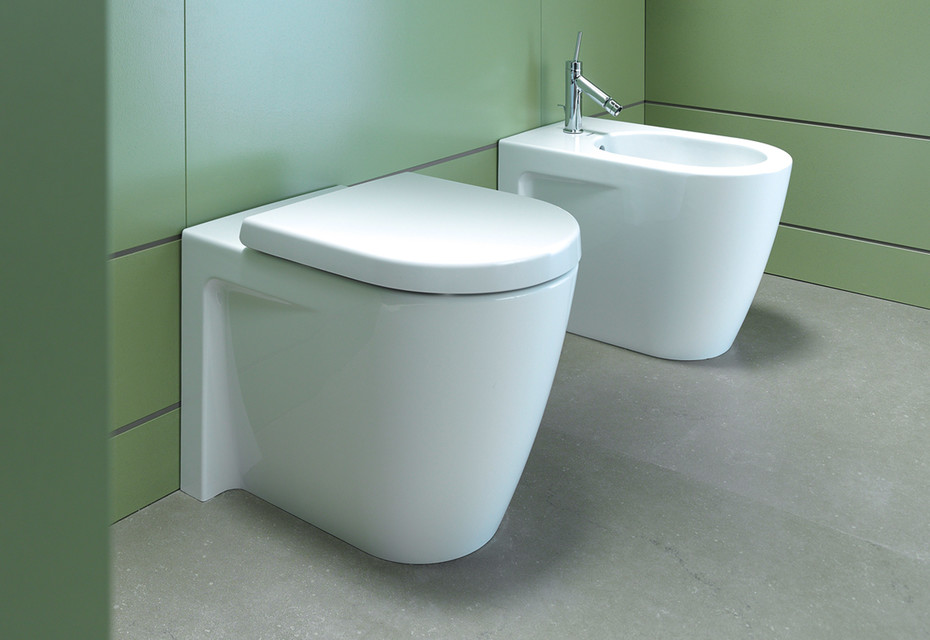 Starck stand WC combination