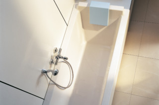 Starck tub built in rectangle  by  Duravit
