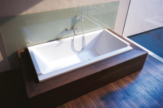 Starck Tube built in rectangle  by  Duravit