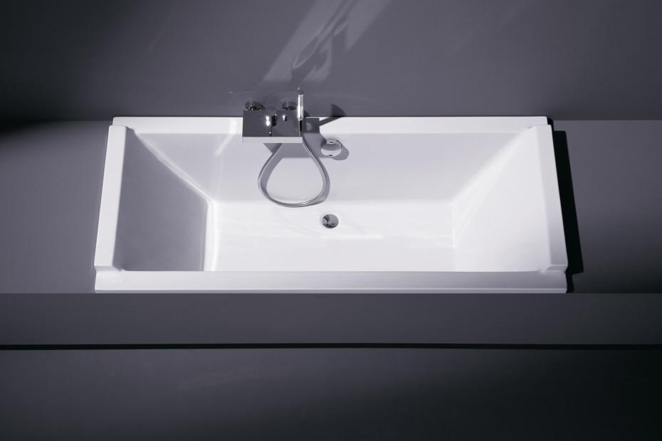 Starck tub built in rectangle