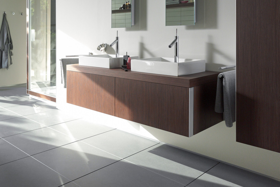 Starck washbasin double vanity unit
