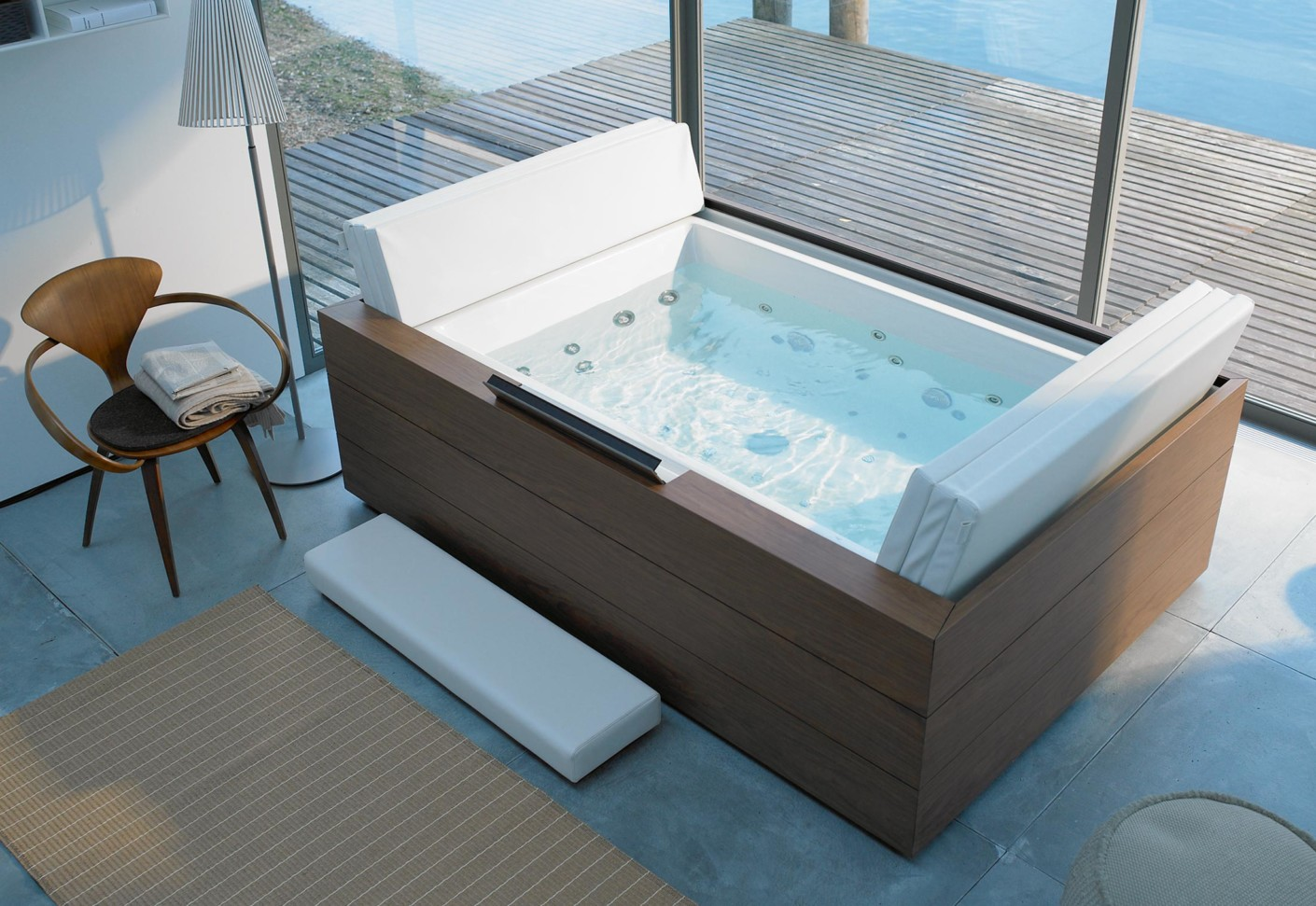 sundeck pool by duravit stylepark. Black Bedroom Furniture Sets. Home Design Ideas