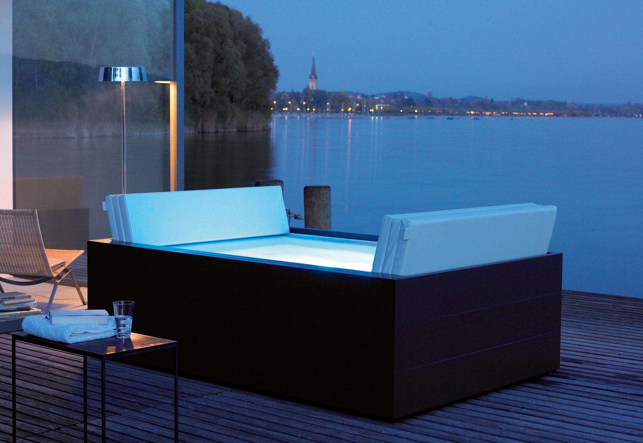 Sundeck pool by duravit stylepark - Jacuzzi piscina exterior ...
