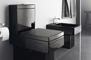 Vero Black Stand-WC  von  Duravit