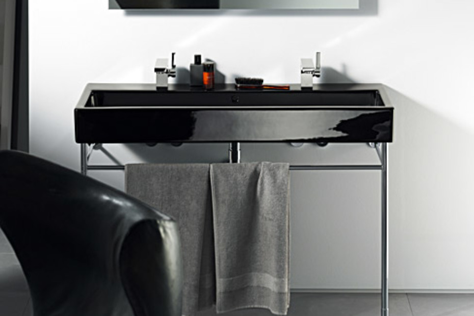 Vero Black washbasin double