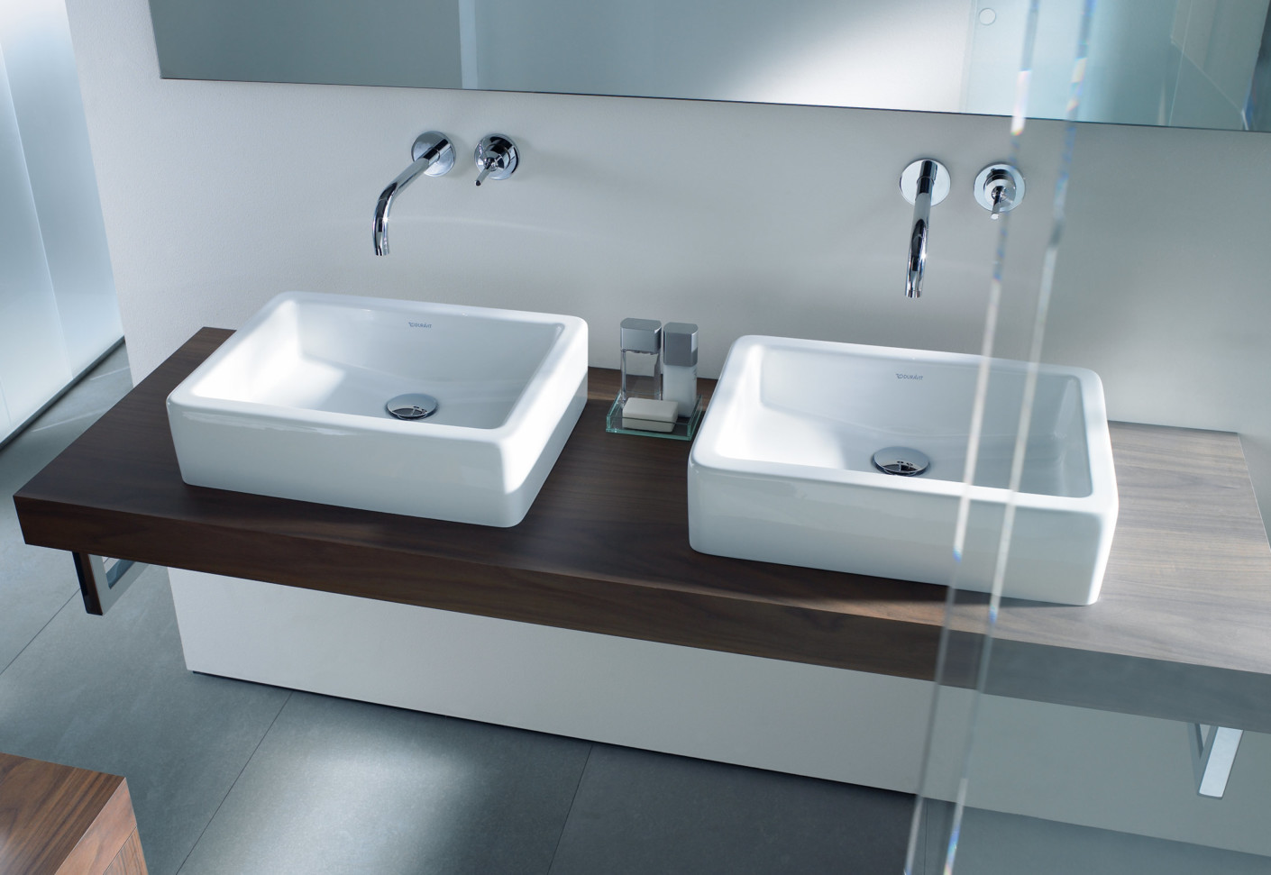 vero double washbasin by duravit stylepark. Black Bedroom Furniture Sets. Home Design Ideas