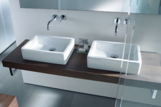 Vero double washbasin  by  Duravit