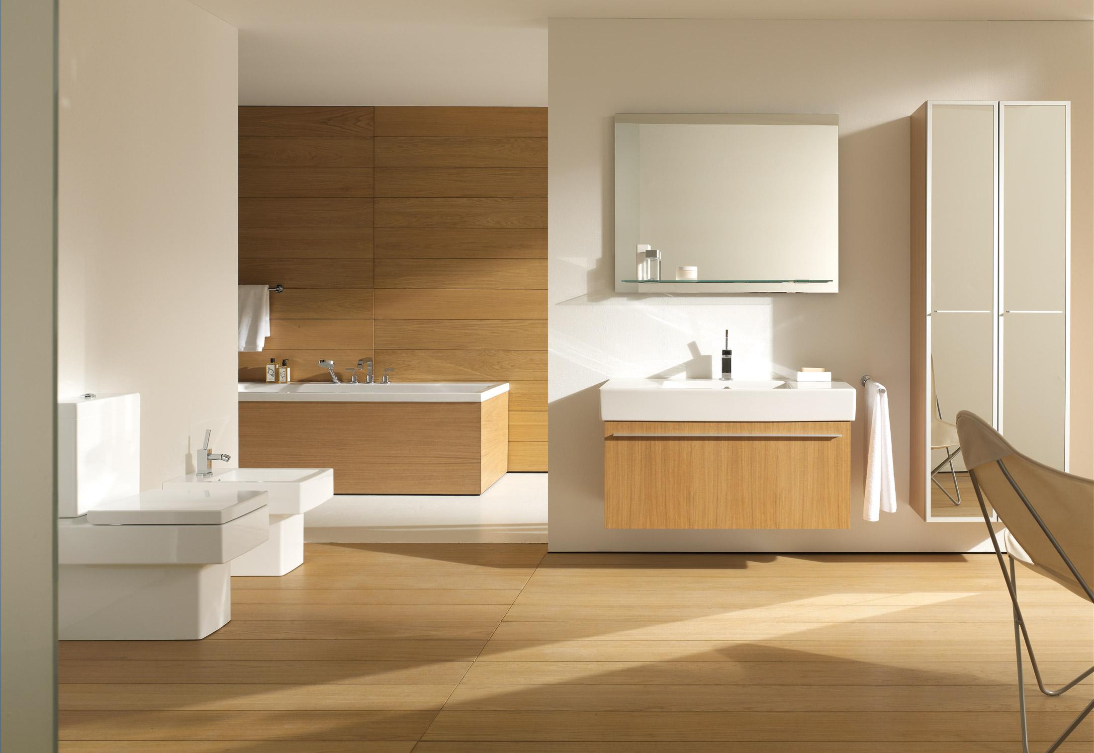 Vero stand wc by duravit stylepark - Sechoir salle de bain mural ...