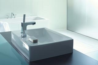 Vero top-mounted washbasin  by  Duravit