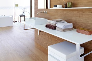 X-Large console for above counter basin  by  Duravit