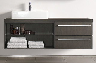 X-Large vanity unit open  by  Duravit