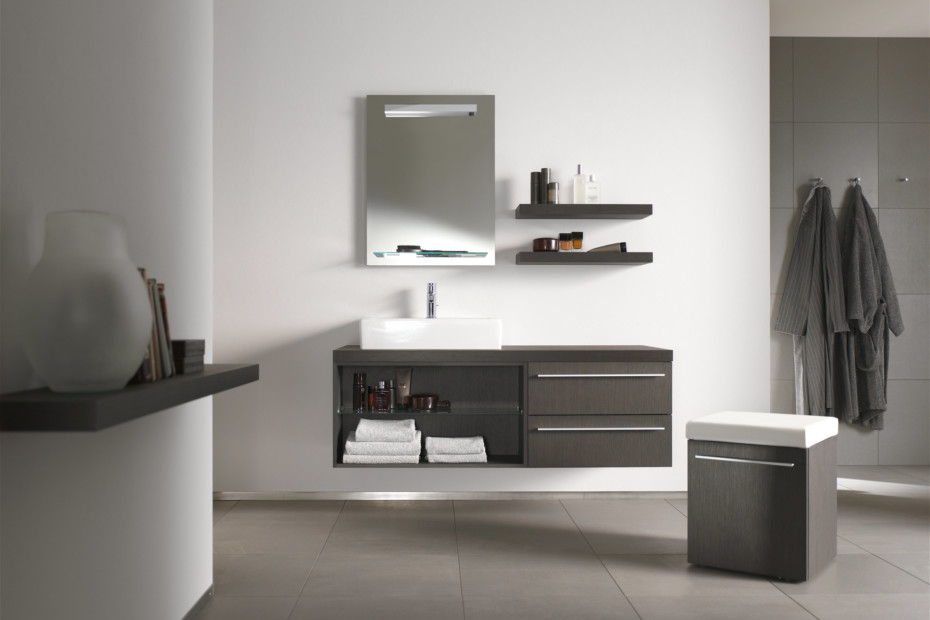 X-Large vanity unit open