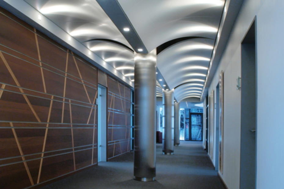 Exceptional ... DOMUS Curved Ceiling System ...