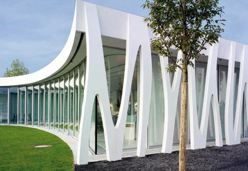 Dyckerhoff weiss gemeindezentrum mannheim von dyckerhoff - Architektur mannheim ...