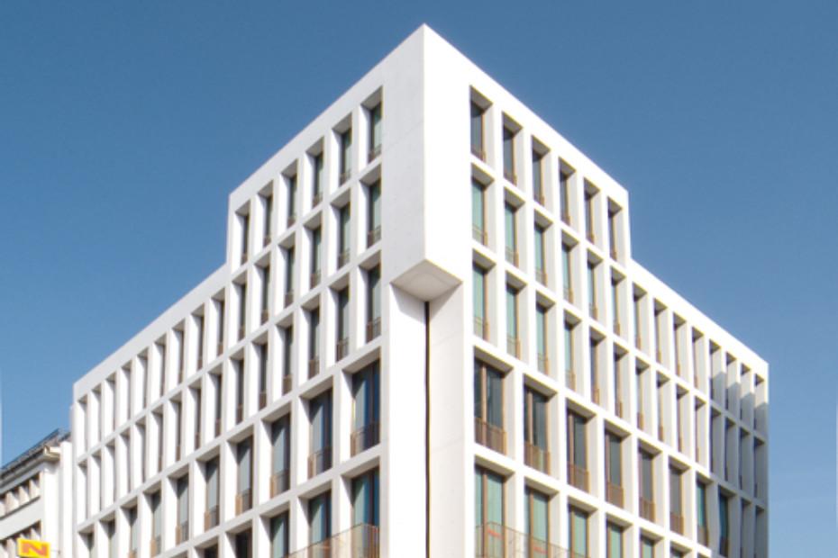 Dyckerhoff WEISS FACE, white house Stuttgart