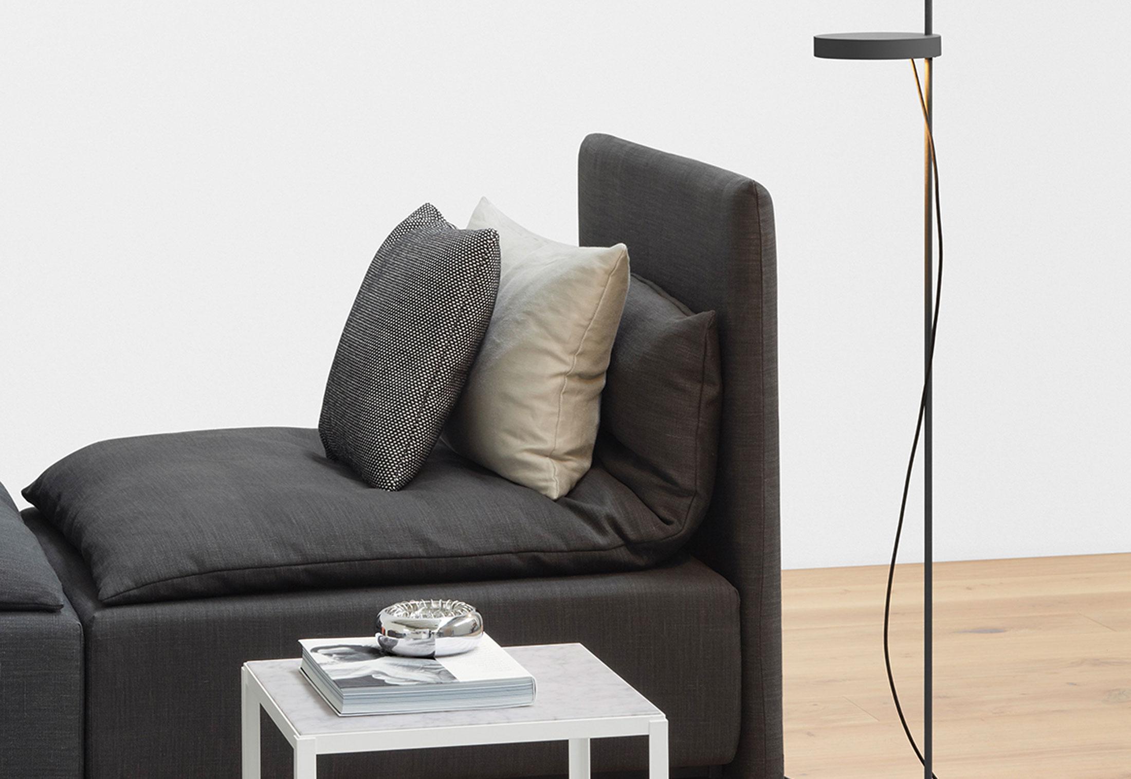 palo bodenleuchte von e15 stylepark. Black Bedroom Furniture Sets. Home Design Ideas
