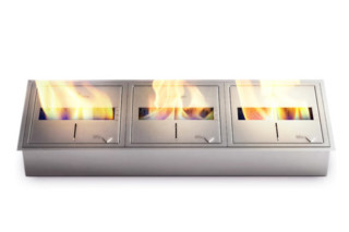 Triple Burner Kit  by  Ecosmart Fire