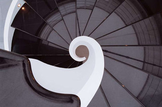 Stairs in cement C-A  by  Edilco