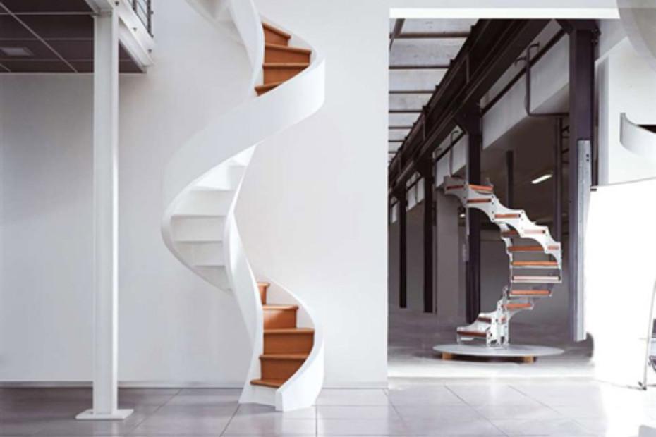 Treppe aus Zement C-A