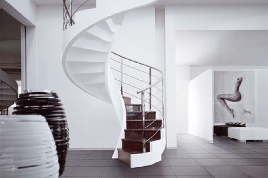 Treppe aus Zement C-AS