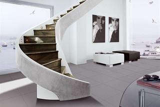 Stairs in cement C-MS  by  Edilco