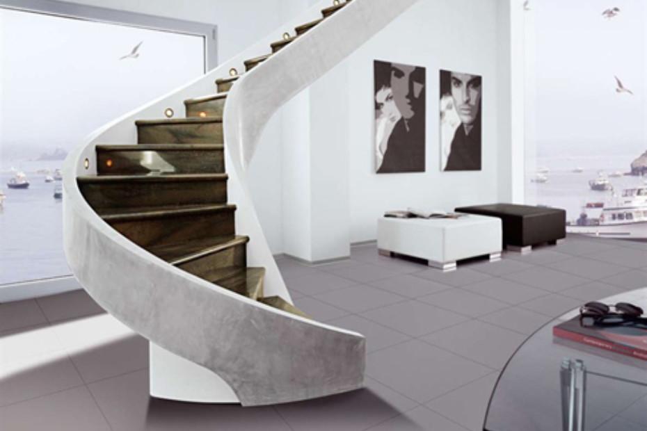 Treppe aus Zement C-MS