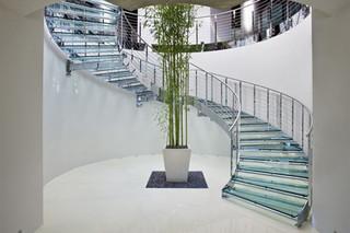 Stairs in steel E-TA  by  Edilco