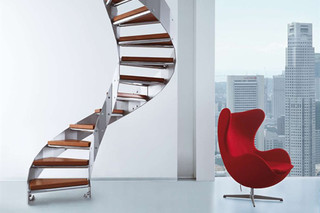 Stairs in steel E-TB  by  Edilco