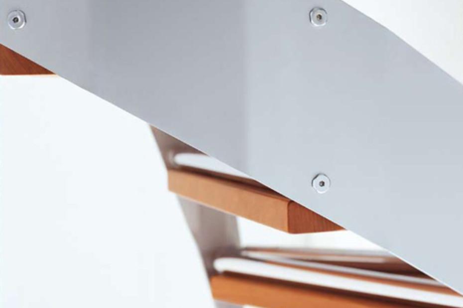 Treppe aus Stahl E-TB