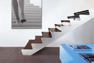 Stairs in steel E-TS  by  Edilco