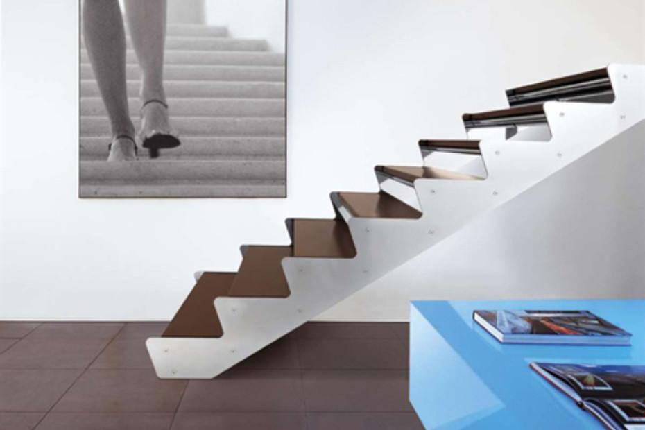 Treppe aus Stahl E-TS