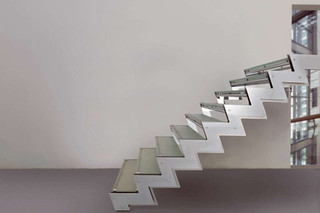 Stairs in steel E-TZ2  by  Edilco