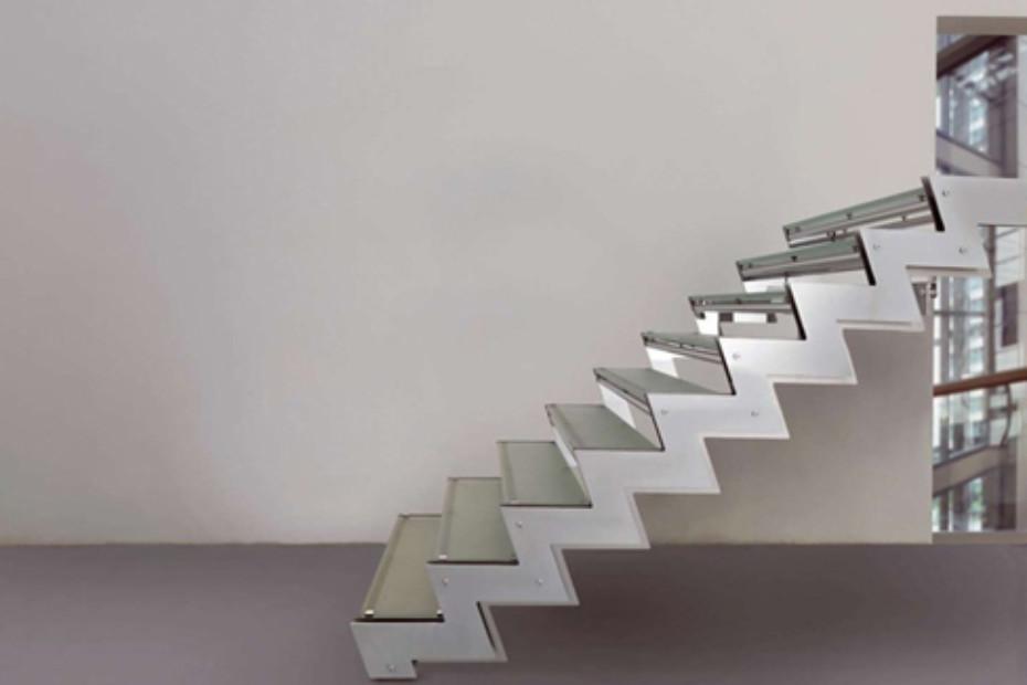 Treppe aus Stahl E-TZ2
