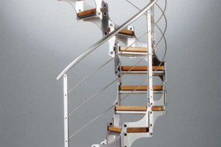 Stairs in steel modular E-16  by  Edilco