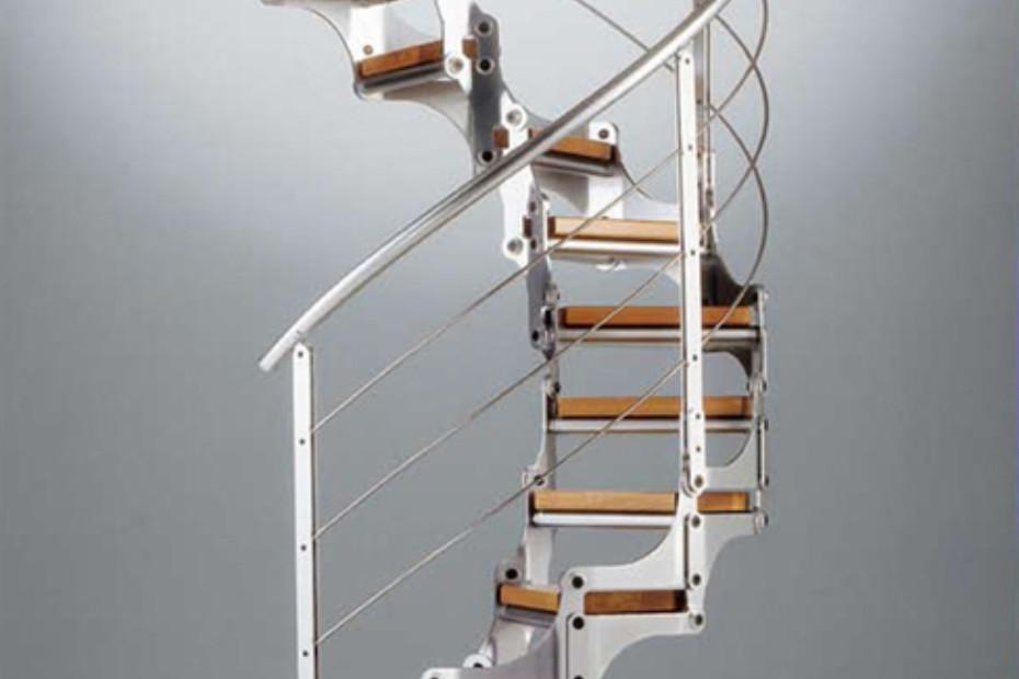 Treppe aus Stahl Modular E-16