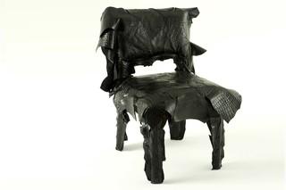 Leatherworks chair  by  edra