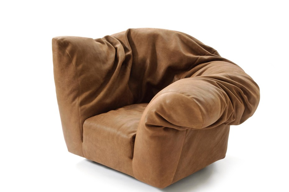 Sfatto Easy chair leather