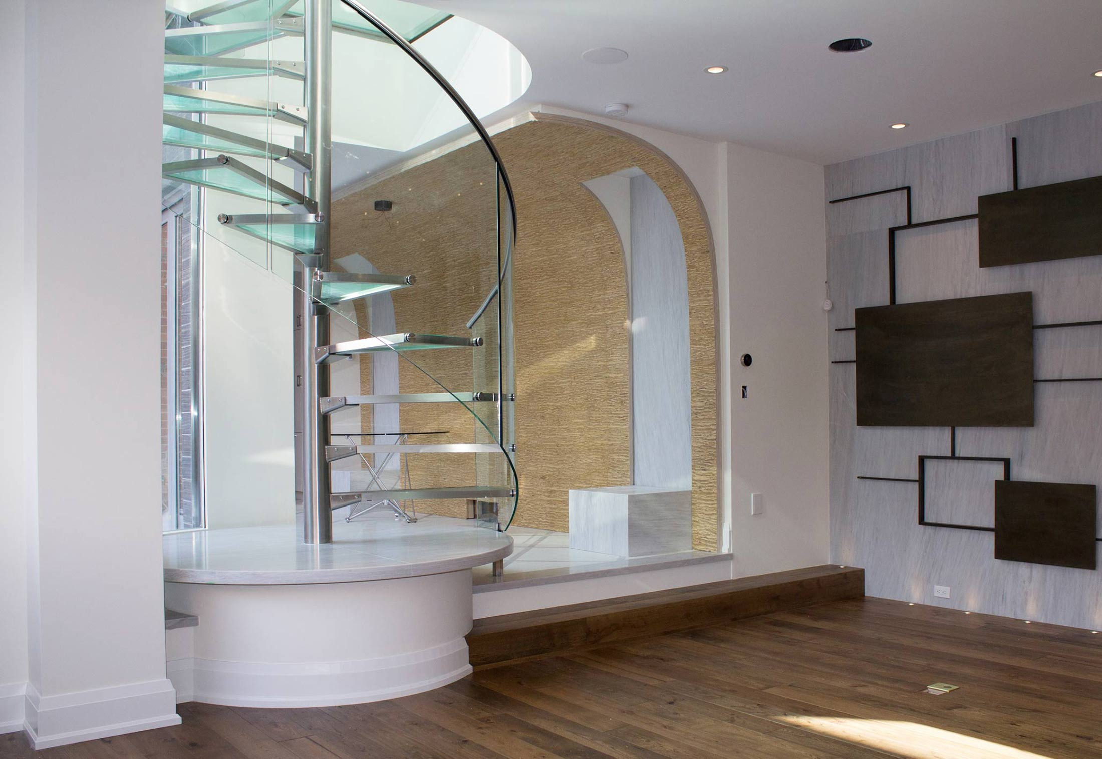 Glass Spiral Stairs By Eestairs Stylepark